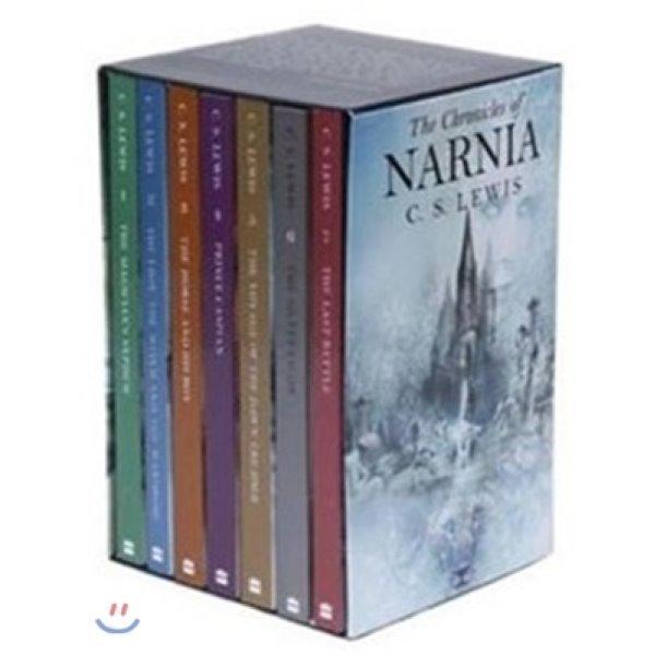 The Chronicles of Narnia Box Set : 나니아 연대기 7권 세트  C  S  Lewis  Pauline Baynes (ILT)