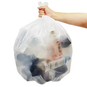 쓰레기용 분리수거 둥근바닥 비닐봉투 배접 60L 200매