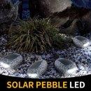 태양광충전등 조명 조약돌모양 쏠라페블 LED 바닥등