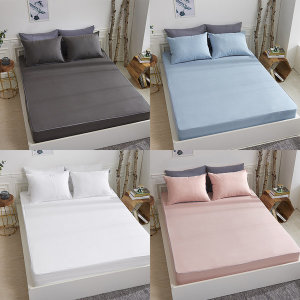 먼지없는 침대 홑겹 매트리스 커버 Q