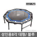 트램폴린 8각/ 블루/코지점프/다이어트 점핑 운동기구