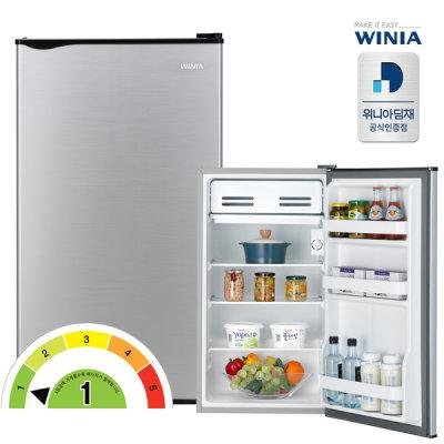 [프라우드S] 공식인증 위니아 소형냉장고 ERR09DS 1등급 93리터