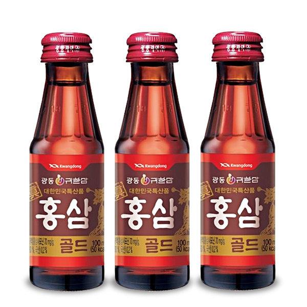 광동 진홍삼골드 100ml x 100병