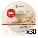 CJ 햇반 200gx30개 / 백미 즉석밥 전자렌지밥 간편식