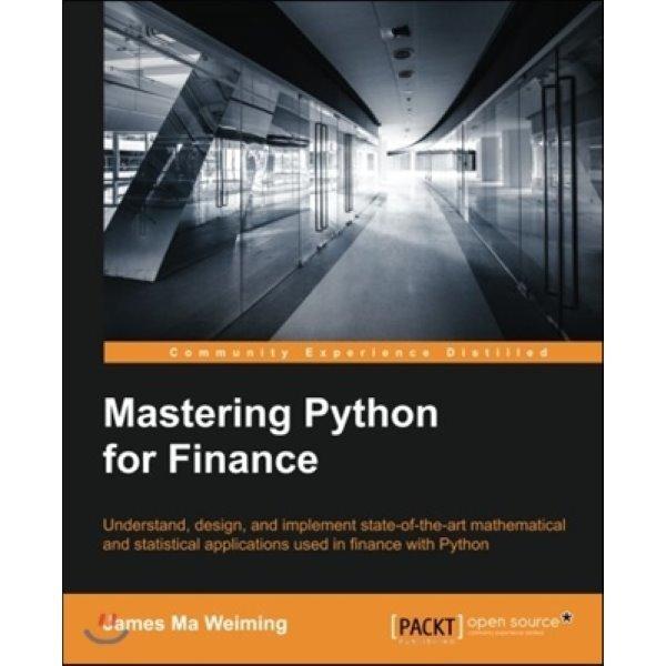 Mastering Python for Finance  James Ma