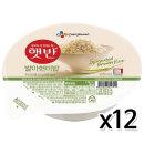 CJ 햇반 발아현미밥 210gx12개 / 즉석밥 전자렌지밥