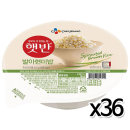 CJ 햇반 발아현미밥 210gx36개 / 즉석밥 전자렌지밥