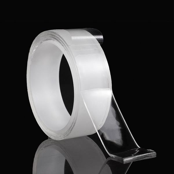 초강력 겔 투명 접착 나노양면테이프(방수) 실리콘