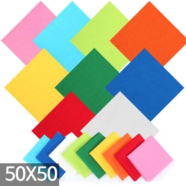 패스톤 면60수컬러손수건 등산 스카프 반다나 (50x50)