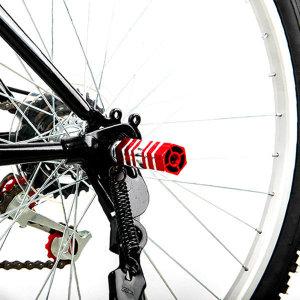 자전거 보조 접이식 발판 사각 뒷 받침 페달 받침대