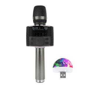 블루투스마이크 M100 블랙 DSP칩 FM송신 듀엣기능