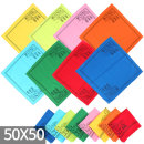 카페풍경 면60수컬러손수건 등산 두건 스카프 (50x50)