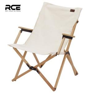 RCE 접이식 캔버스 우드 암레스트 감성 캠핑 의자