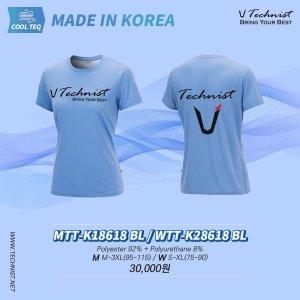 테크니스트 티셔츠 MTT-K18618 WTT-K28618 BL 기획티