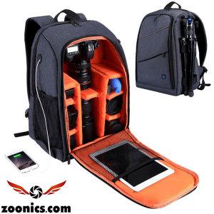 주닉스 ZNS-5011 카메라 DSLR 대용량 백팩 배낭 가방
