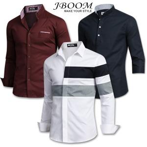 가을신상 셔츠 남방 스판 와이셔츠 남자 남성 캐주얼