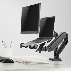 MV-N1 노트북 거치대 모니터암 필수템