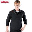윌슨 남성 긴팔 카라티셔츠 4625 블랙 폴로티 단체복