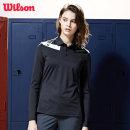 윌슨 여성 긴팔 카라티셔츠 4610 차콜 폴로티 단체복