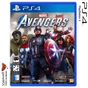 PS4 마블 어벤져스 한글 초회판(의상팩/이름표)