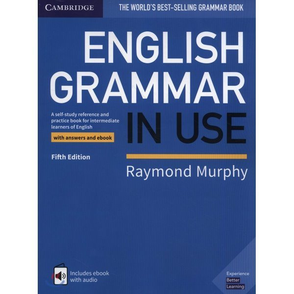 English Grammar in Use Book with Answers and eBook  5 E : A Self-study Reference and Practice B...