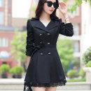 여성 슬림 트렌치코트 자켓 코트 정장 여자 봄 가을