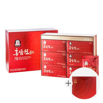 [정관장] 홍삼원 골드 50ml 60포 1박스/홍삼/추석선물/쇼핑백
