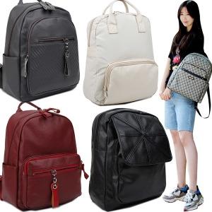 계절 신상 여성 백팩 여행 가방 퀼팅 배낭 가죽