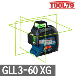 보쉬 GLL3-60XG그린라인레이저레벨기올그라운드레벨링