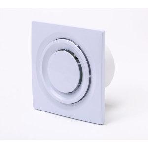 욕실용환풍기 DWV-09DRB 외형치수:160x160mm