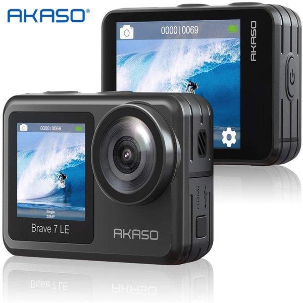 아카소 Brave 7 LE 4K wifi 30FPS 20MP 방수 액션캠