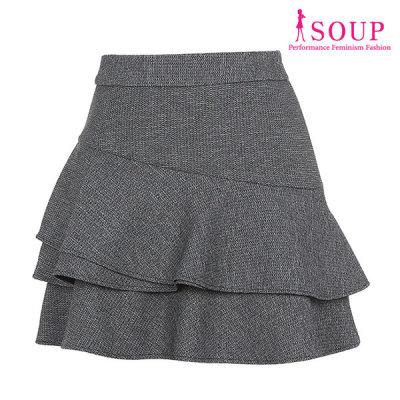 [SOUP] 티어드 러플플레어 미니스커트(SV2SR02)