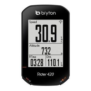 Bryton 속도계/420 E 본체/USB/안전끈/자전거마운트