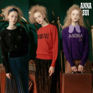 안나수이(ANNA SUI) 라비드보헴 시그니처 아트웍 니트 3종