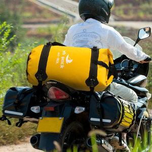 오토바이가방 여행용 방수팩 바이크 리어백 40L 80L