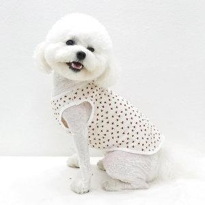 호나미네 강아지옷 고양이옷 오가닉 벚꽃 실내복