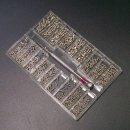 L 18종 미니 십자 볼트세트-정밀 시계 나사 드라이버