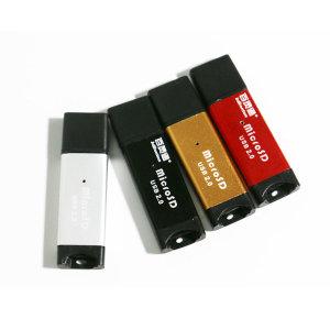 샵카카오 프리미엄 Micro SD 카드 리더기 H타입 블랙