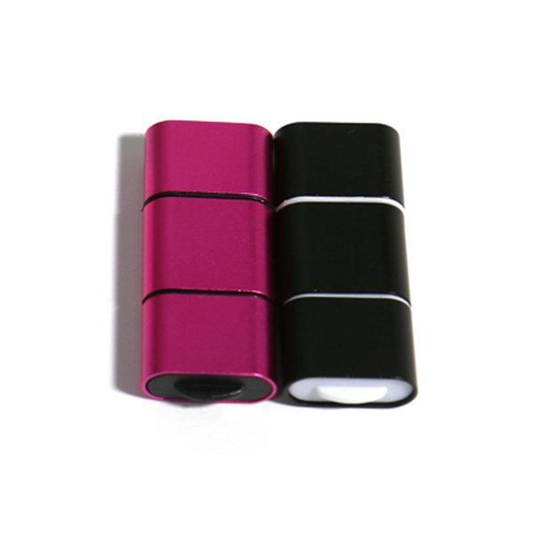 샵카카오 슬림 Micro SD 카드 리더기 OTG M타입 블랙