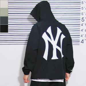 빅사이즈 NY 뉴욕 오버핏 아노락 바람막이 남성 XL-3XL