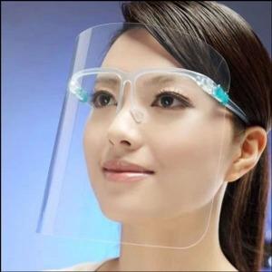 코로나 투명 마스크(안경걸이용)-1인용