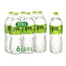 풀무원 샘물 2L 12pet / 생수 / 먹는샘물 / 물 6900