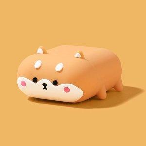 에어팟 1/2/3세대/프로 강아지 캐릭터 실리콘 케이스