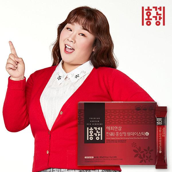 홍건강 해피한삼 진(眞) 홍삼정 원데이스틱 10gx30
