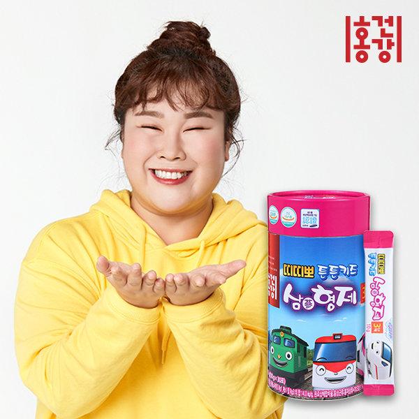 띠띠뽀 튼튼키즈 삼(蔘)형제 배도라지홍삼 10gx30