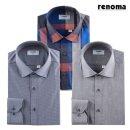 갤러리아   레노마셔츠 남성 체크/패턴 긴팔 셔츠 11종택일