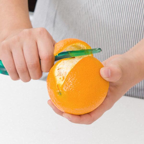 오렌지 필러 칼 과일 껍질까기