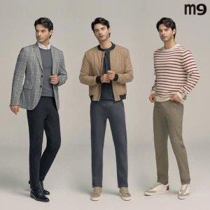 M9 남성 360도 빅밴딩 릴렉스핏 팬츠3종