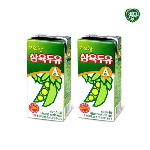 삼육두유 고소한맛A 190ml 96팩