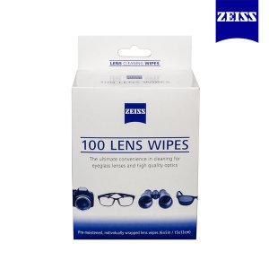 자이스 일회용 렌즈크리너 100매 /안경닦이/휴대폰